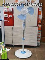 Вентилятор бытовой Ergo с таймером качественный напольный вентилятор недорого купить Украина
