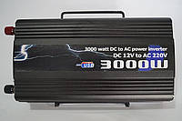 Инвентер напряжения 3000w BL, преобразователь 12/220 3000w, автомобильные инверторы,преобразователи напряжения