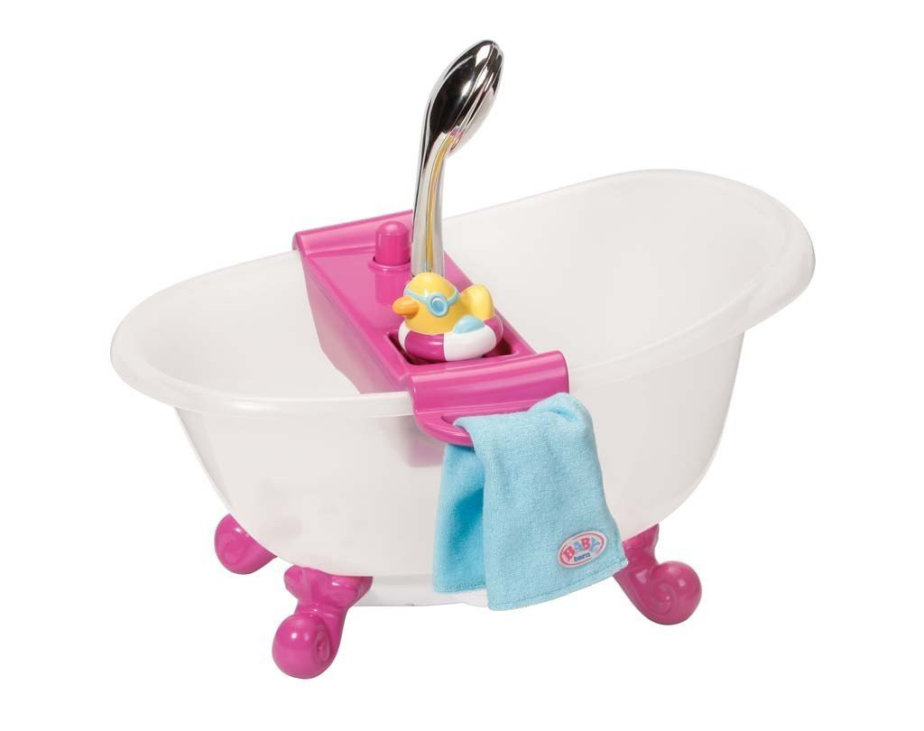 Ванночка для кукол Беби Борн интерактивная с Душем Baby Born Zapf Creation 818183