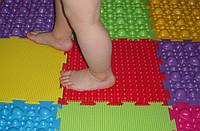 Детский массажный ортопедический коврик ОРТО 1 шт