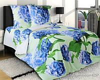 Двуспальный комплект постельного белья, бязь Гортензия (хлопок 100%)