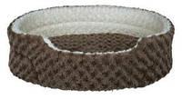 Лежак для кота Trixie Kaline 45*35см темно-серый/кремовый (38471)