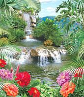 Фотообои с водопадом Источник  изобилия