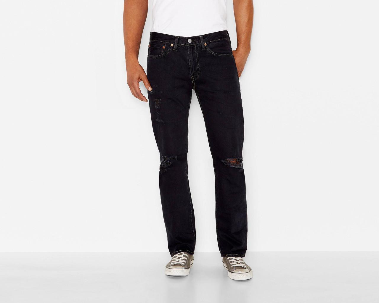 Джинсы Levi's 514 Straight Fit, Black Dell, 34W30L, 005140759