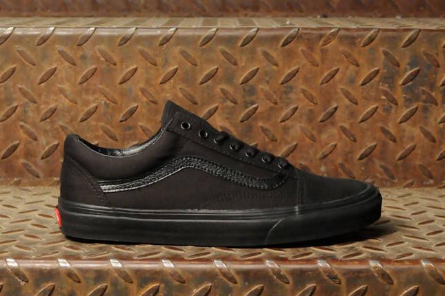 Кеды Vans Old Skool All Black, фото 2