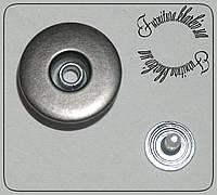 Джинсовая пуговица 17мм на подвижной ножке