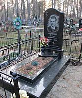 """Ординарный памятник на могилу с портретом """"Веретиналь"""""""
