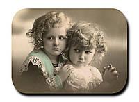 Магнитик Дети на старом фото