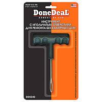 Инструмент с игольчатым отверствием для ремонта бескамерных шин DoneDeal DD0340