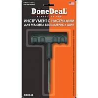 Инструмент с насечками для ремонта бескамерных шин DoneDeal DD0344