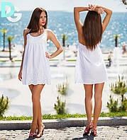 Платья летнее белое х.б
