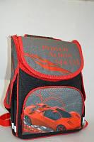 Ранец школьный ортопедический детский Машина Leader 974686