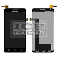 Дисплей для мобильного телефона Lenovo S850, черный, с сенсорным экраном