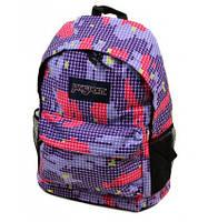 Яркий рюкзак молодежный 3Д Мозаика