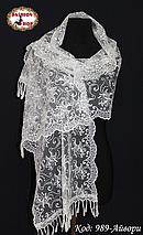 Свадебный шарф Камила (айвори), фото 3