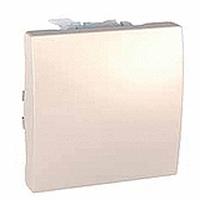 Выключатель кнопочный, слоновая кость - Schneider Electric Unica (Код: MGU3.206.25)