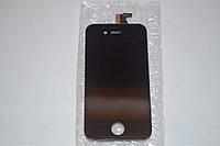 Дисплей (модуль) + тачскрин (сенсор) для Apple iPhone 4 (черный цвет)