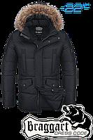Куртка зимняя мужская Braggart Dress Code - 3860A черная