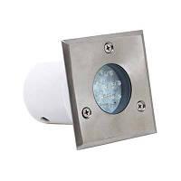 Cветодиодный грунтовый светильник Horoz 1,2W HL 941L голубой свет