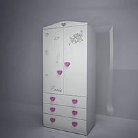 "Шкаф двухстворчатый с ящиками ""Ля-Мур"", фото 1"