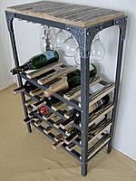 Стол-стелаж для вина Loft Style , фото 1