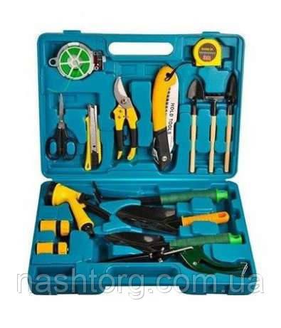 """ВАШ ВЫБОР! Набор инструментов для садовника - 16 предметов в кейсе, 1001510 набор садовых инструментов - Інтернет-маркет """"НашТорг"""" в Львове"""