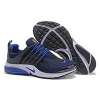 Мужские кроссовки Nike Air Presto Black/BLUE 631754 Реплика, фото 1