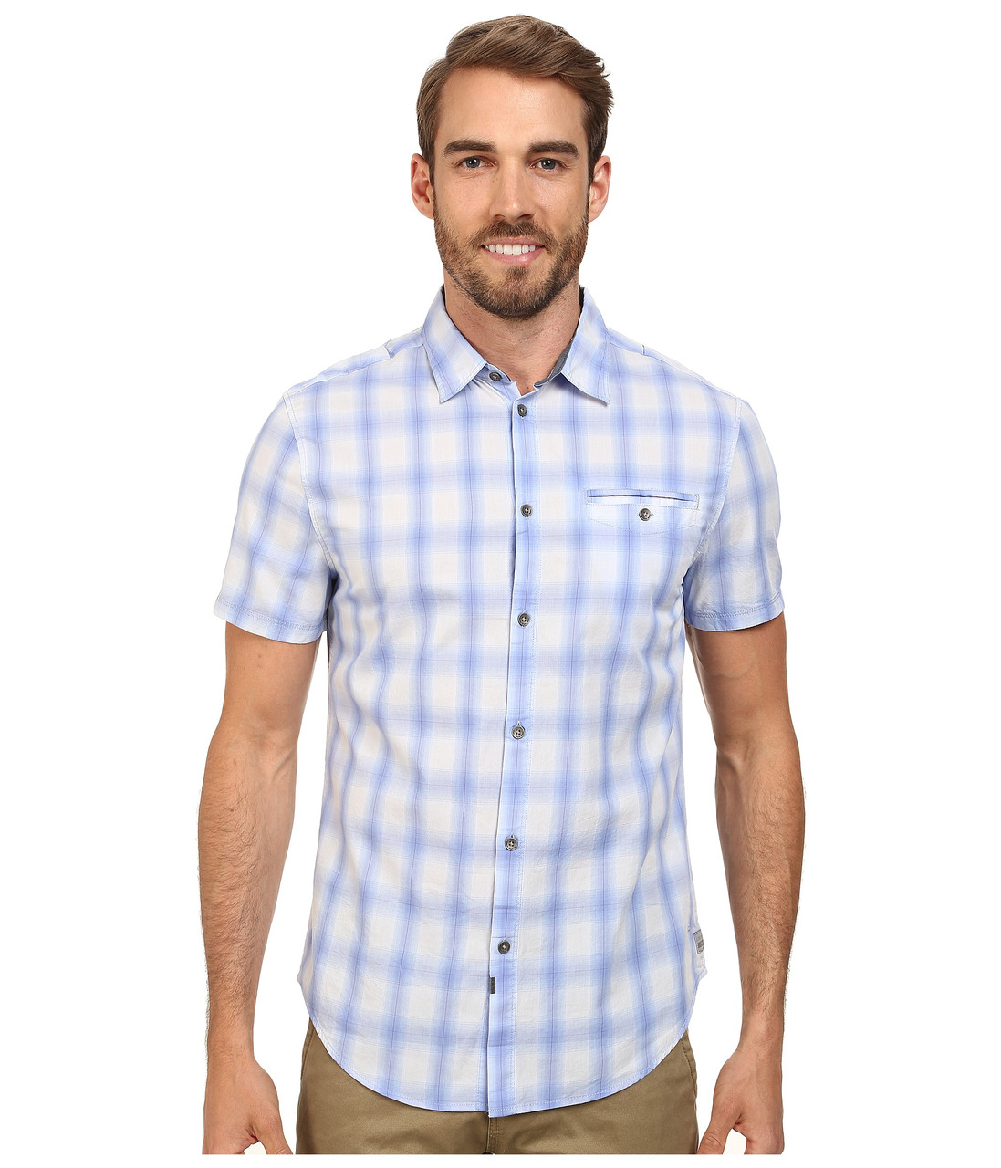Рубашка Calvin Klein Jeans, XL, Hail, 41JW145-530