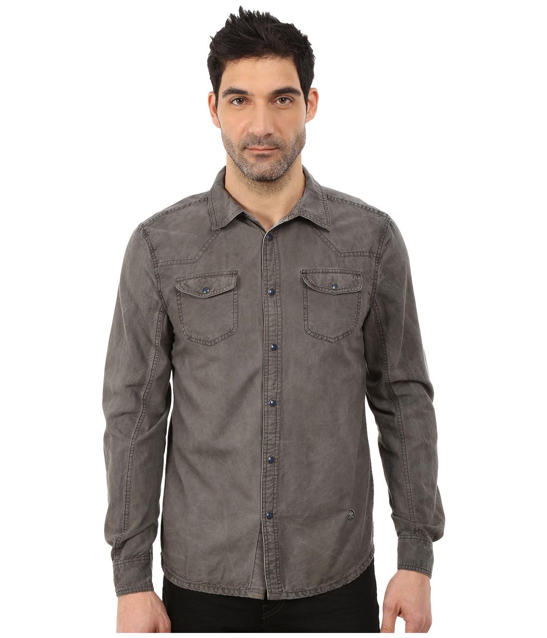 Рубашка Buffalo David Bitton Samuel, L, Black, BM16566
