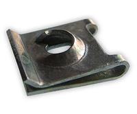Зажим металлический под саморез 4,2x11x13,2мм Белый