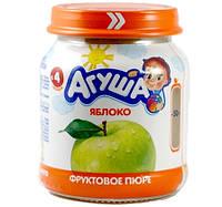 Пюре фруктове Агуша, 115 мл., яблуко