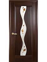 Дверь ВОЛНА Р-1 каштан