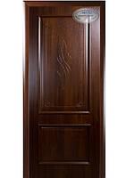 Дверь (ИНТЕРА De Luxe) ВИЛЛА каштан
