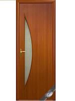 Дверь ЛУНА вишня