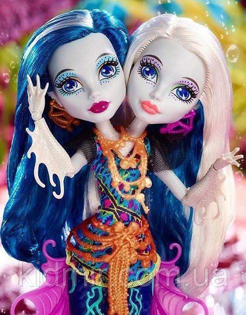 Кукла Monster High Пери и Перл Серпентайн (Peri & Pearl) Большой Скарьерный Риф Монстер Хай