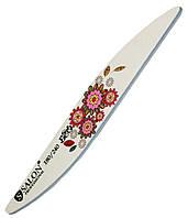Пилки для ногтей SALON PROFESSIONAL (180/240) Teflon, капля, цветы, Eco, фото 1