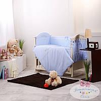 Набор в детскую кроватку Golden фиалковый (6 предметов), фото 1