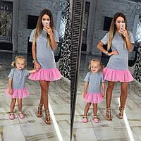 Family Look Парные платья для мамы и дочки