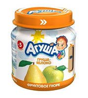 Пюре фруктове Агуша, 115 мл., груша-яблуко