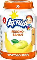 Пюре фруктове Агуша, 200 мл., яблуко-банан