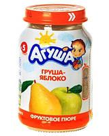 Пюре фруктове Агуша, 200 мл., груша-яблуко