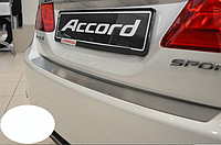 Накладка на бампер Honda Accord IX 2013-