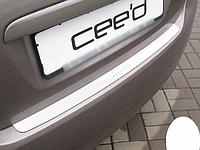Накладка на бампер Kia Ceed I 5D 2006-