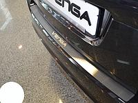 Накладка на бампер Kia Venga 2010-