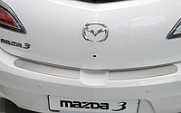 Накладка на бампер Mazda 3 II 5D 2009-