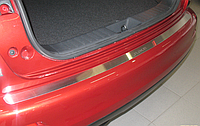 Накладка на бампер Nissan  Juke 2010-2014