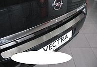 Накладка на бампер Opel Vectra C 4D/5D 2002-2008, фото 1