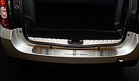 Накладка на бампер Renault Duster 2010-