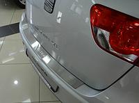 Накладка на бампер Seat Altea XL/Freetrack 2007-