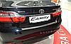 Накладка на бампер Toyota Camry 50